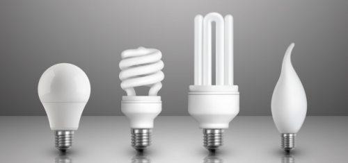 LED žarulje različiti modeli
