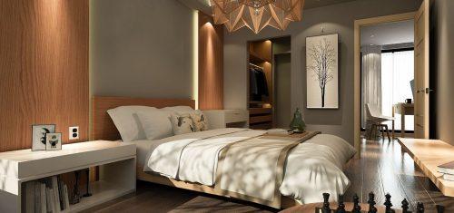 LED rasvjeta u spavaćoj sobi
