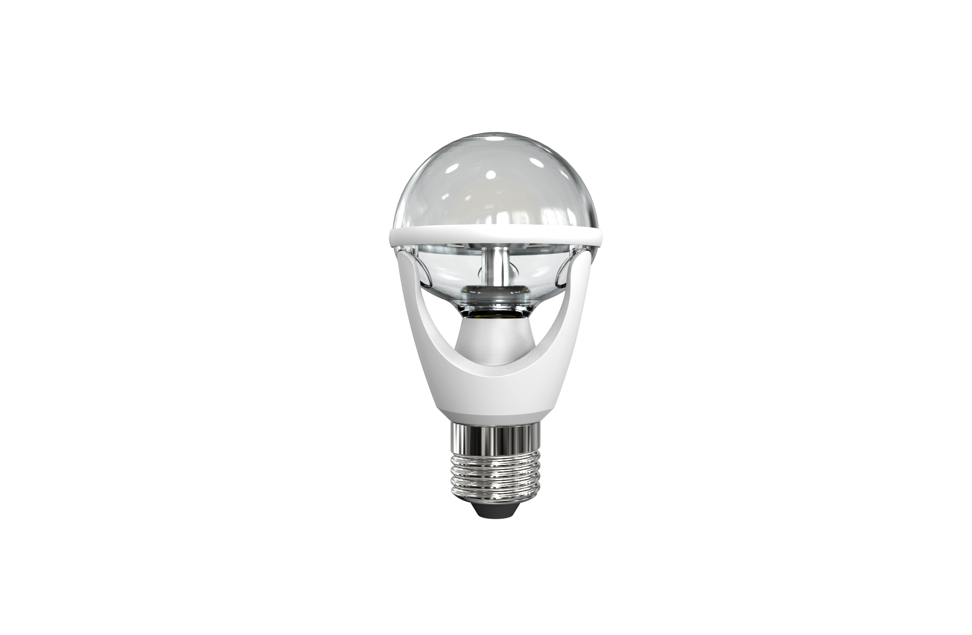 8W bulb clear cover