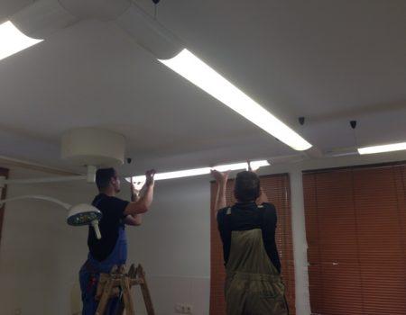 LED cijevi u Poliklinici Analiza, Cito i J&J Medici